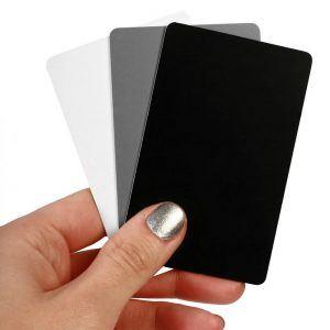 gray card white balance