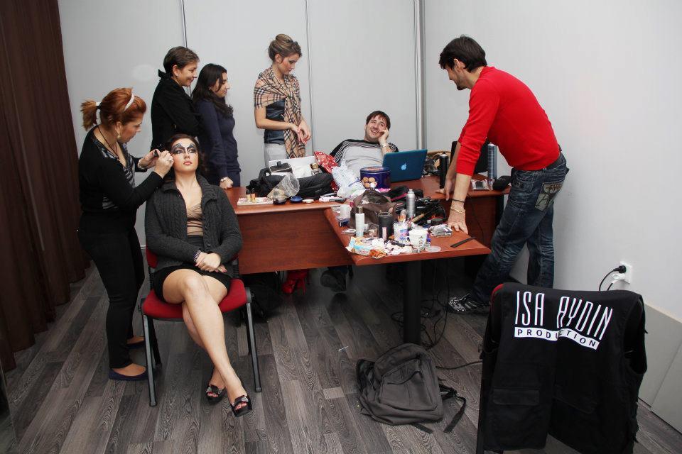makeup casting