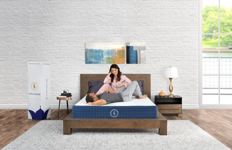 mattress commercial mattress photography mattress photoshoot models family bed studio highend advertising new jersey