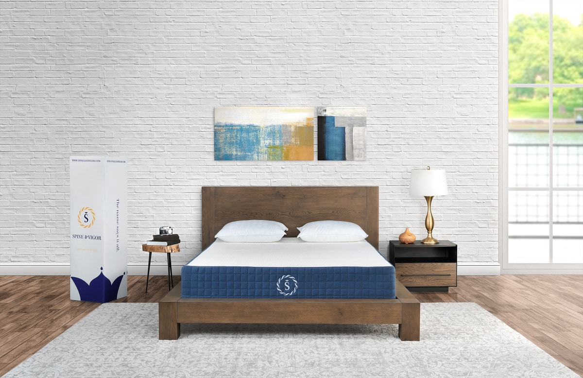 mattress photoshoot after image