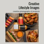 Creative lifestyle images with props