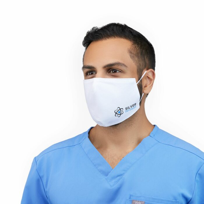 Window Face Mask on a male model, Photoshoot for eCommerce Platforms