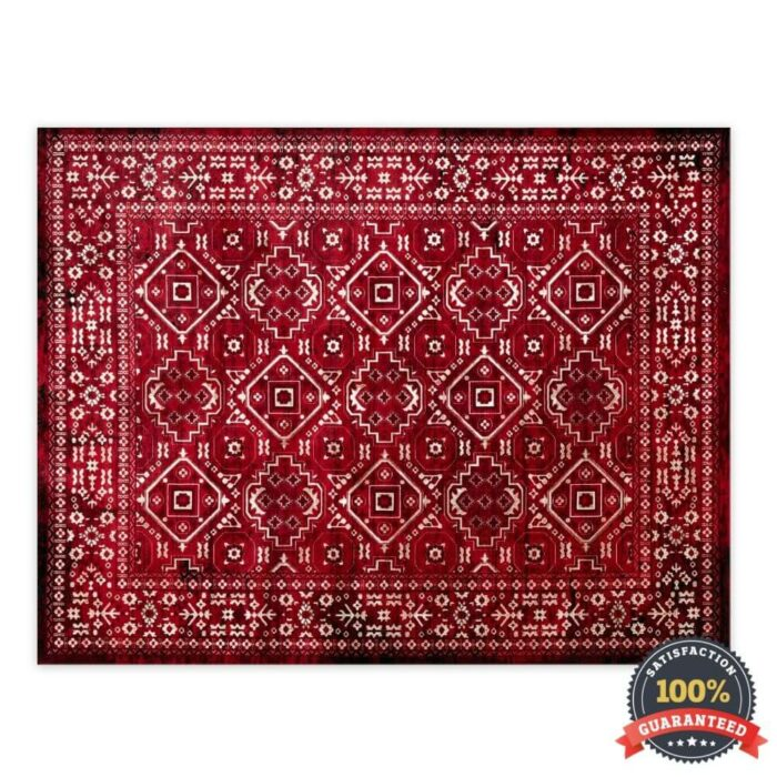 Rug Photography on a Pure White Background