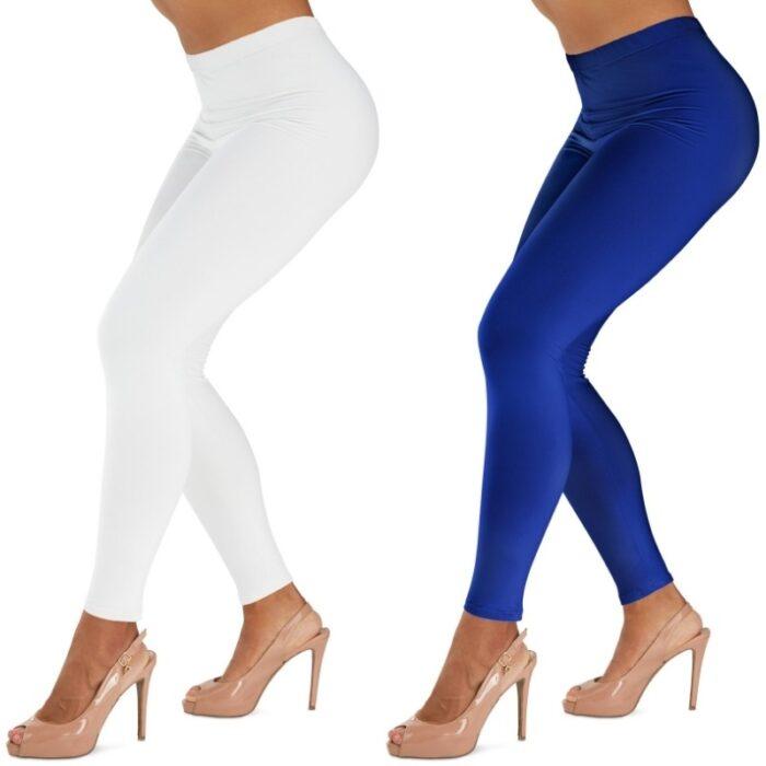 Leggings Photoshoot on a white background
