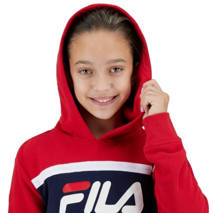 Fila Hoodies for Girls picture in a white background by Isa Aydin Photography