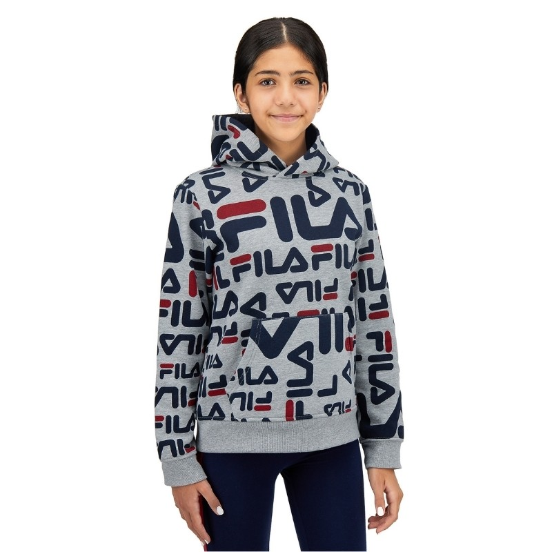 Fila Hoodie for girls photoshoot