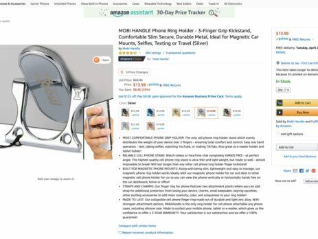 Mobi Handle Photoshoot for amazon Listing