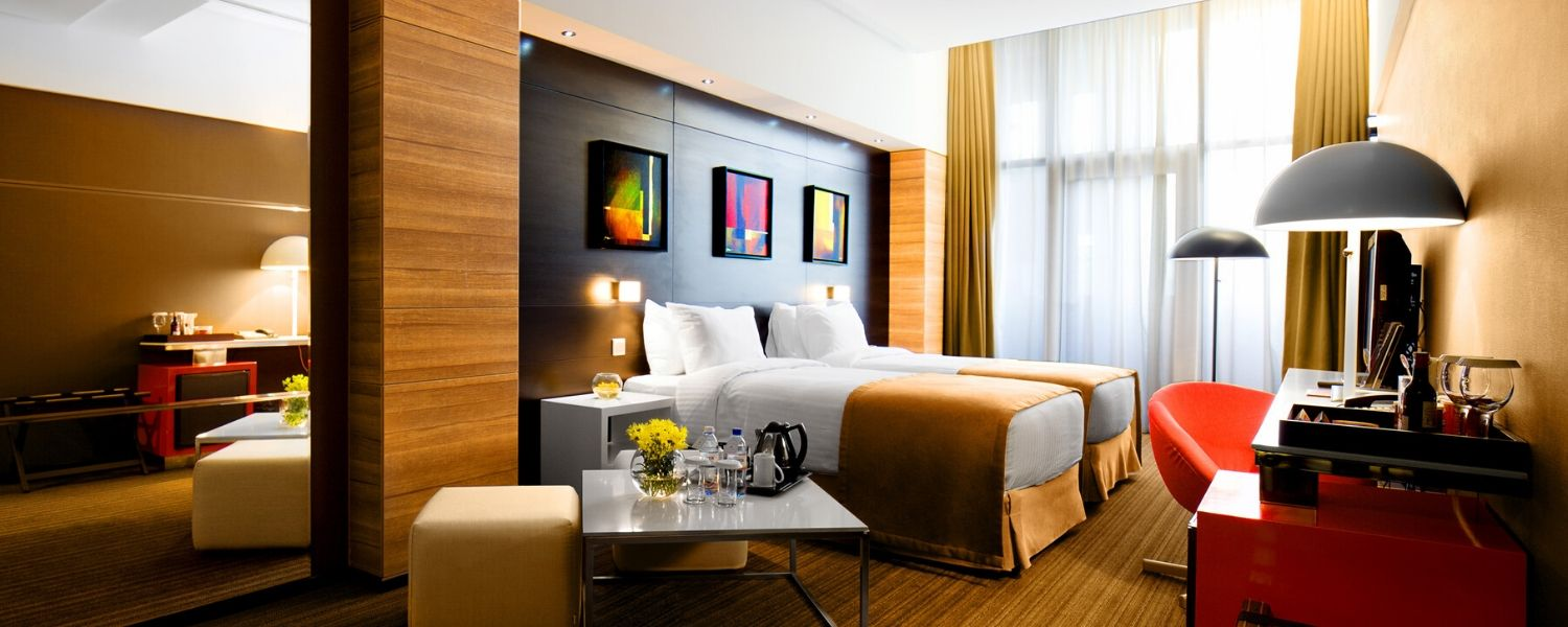 Hotel photography of a room in New York, New Jersey, Brooklyn, Manhattan