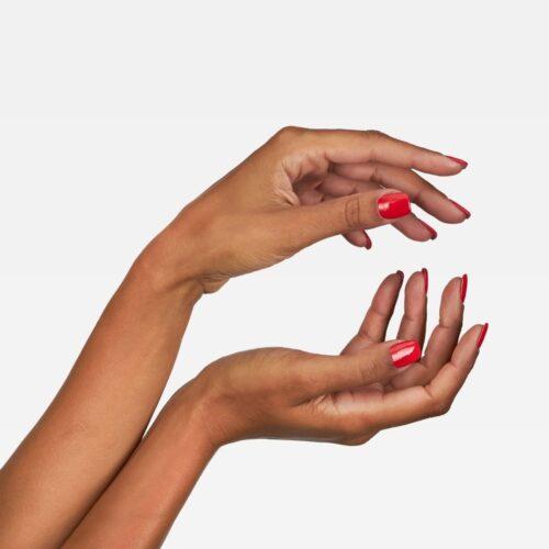 nail polish photography on model hands