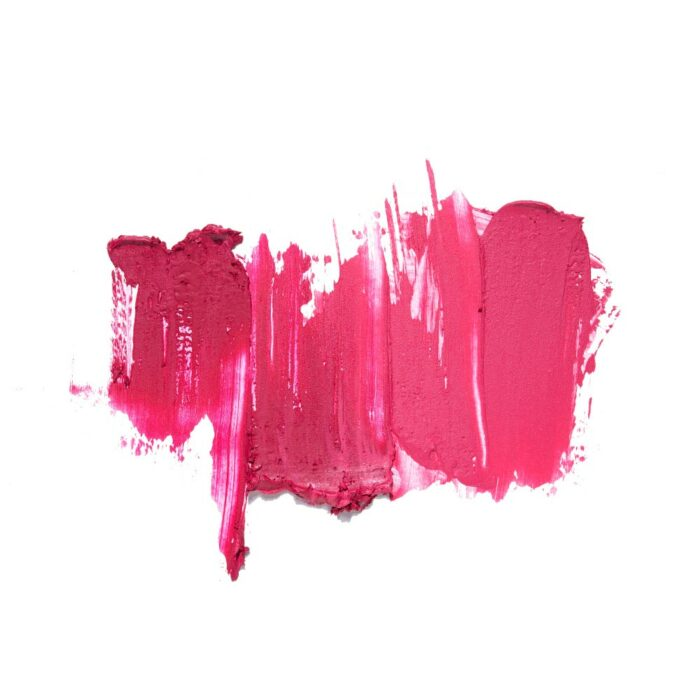 beauty products in action photography of swatches