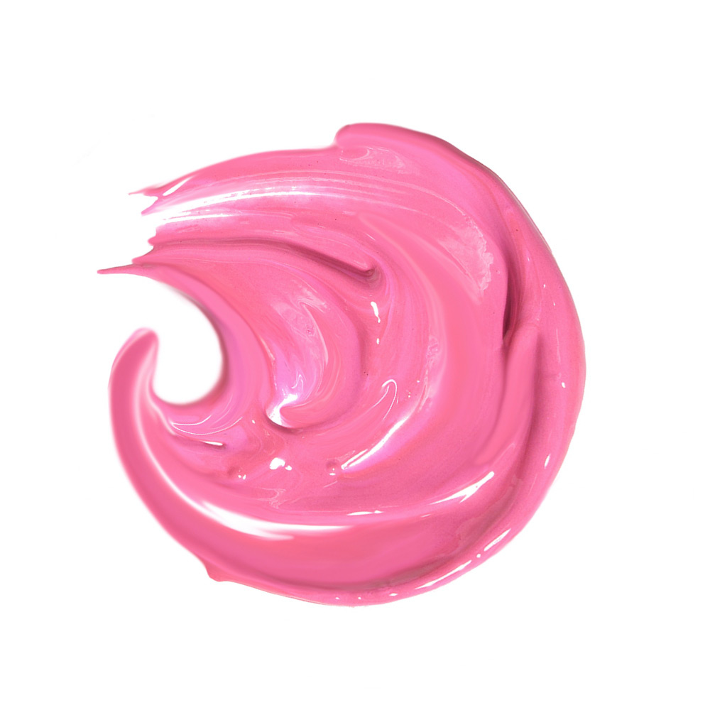 beauty products in action photography of smears