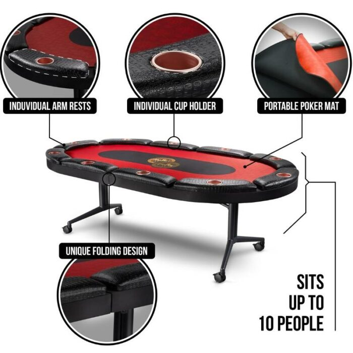 Poker Table Photoshoot for eCommerce