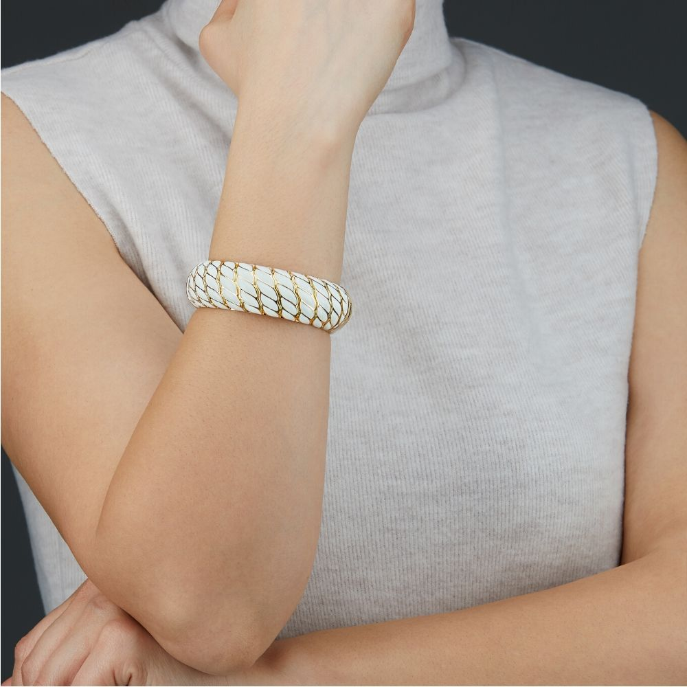 Jewelry Photoshoot on a model