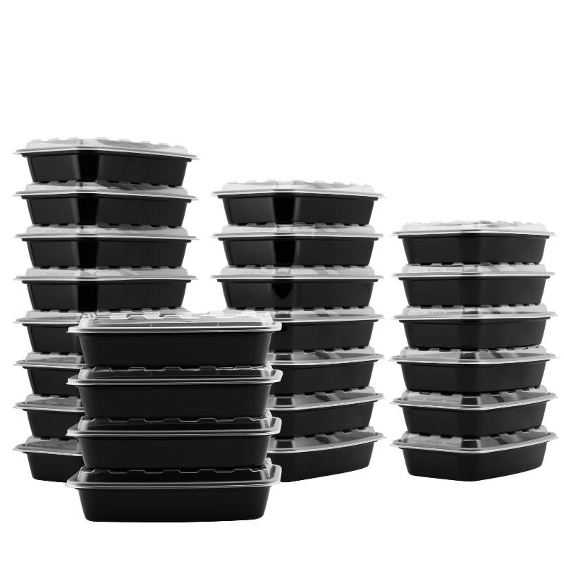 Food Containers Photoshoot on a white background for eCommerce listing