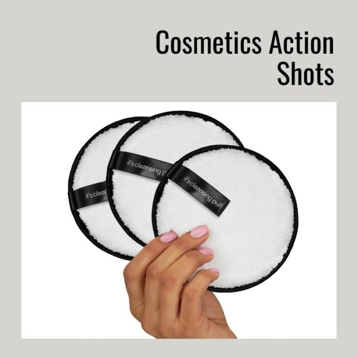 cosmetics action shots