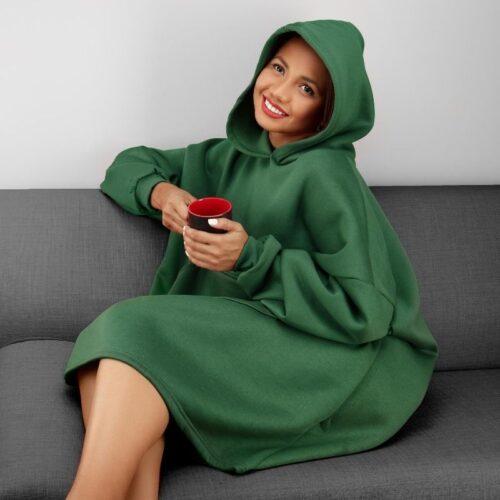 Long Hoodie for women Photoshoot