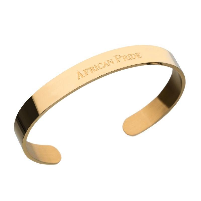 Gold Bracelet on a white background for eCommerce listing