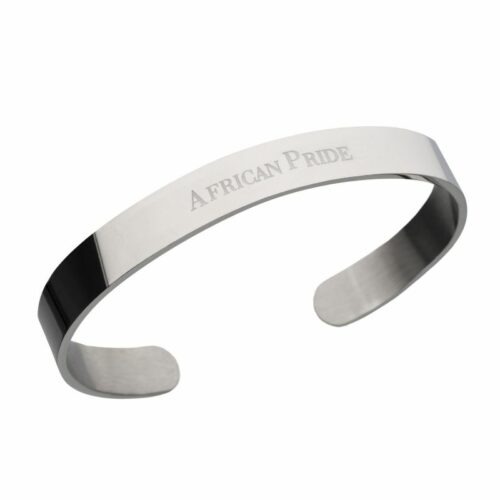 Silver Bracelet on a white background for eCommerce listing
