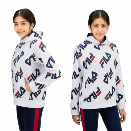 Kids model clothing photography of hoods on white background with model