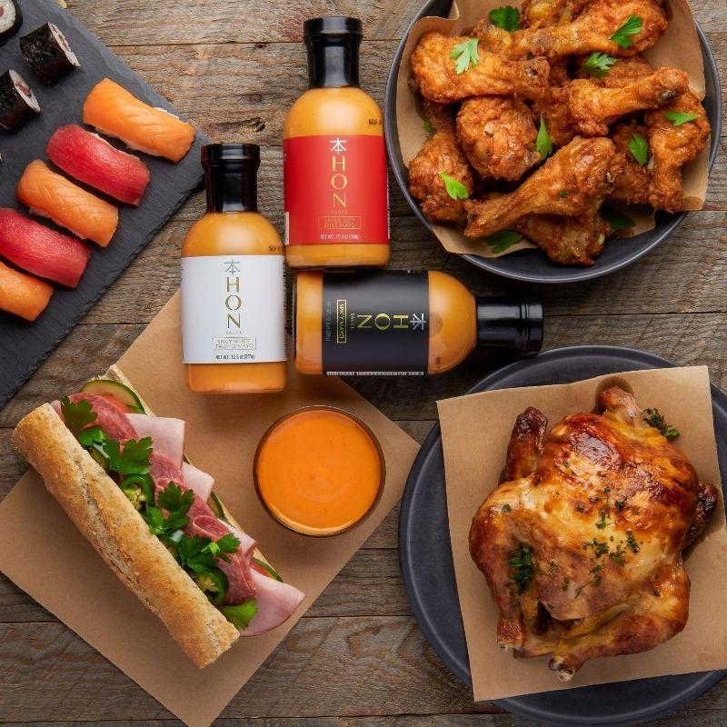 Mayo Sauce Photoshoot with Food at Isa Aydin Photography Studio