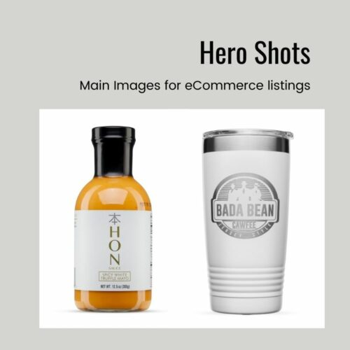 Hero shots on White for eCommerce Product Thumbnail