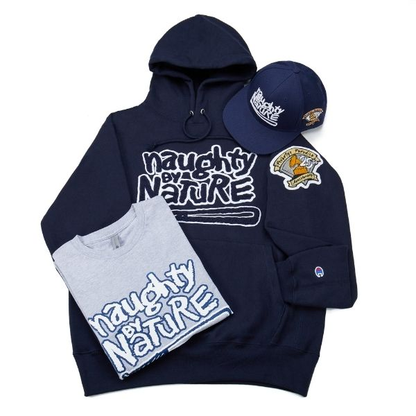 Naughty by Nature Clothing Image on a white background