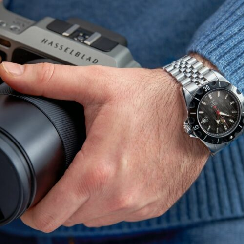 Jack Turner Watch Photoshoot on a model at Isa Aydin Photography