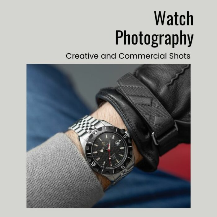 watch photography for eCommerce