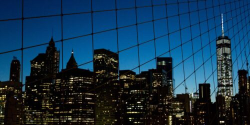Architectural Photography of buildings in night