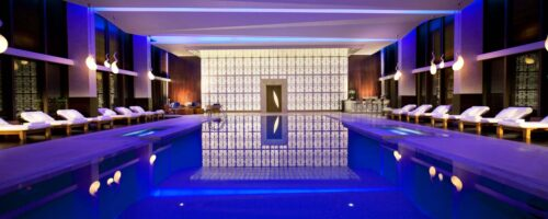 Hotel Pool High End Photoshoot by Isa Aydin Studio Photography
