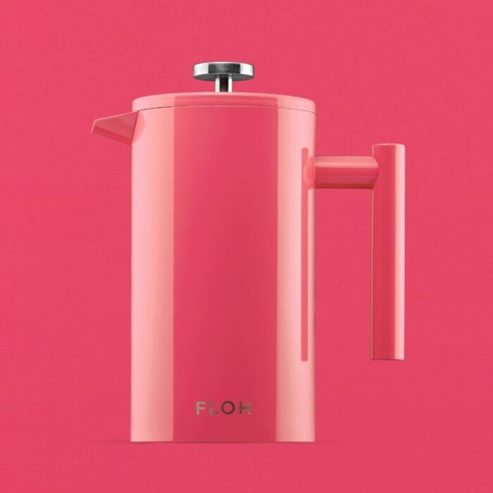 Pink Teapot Image on Pink Background