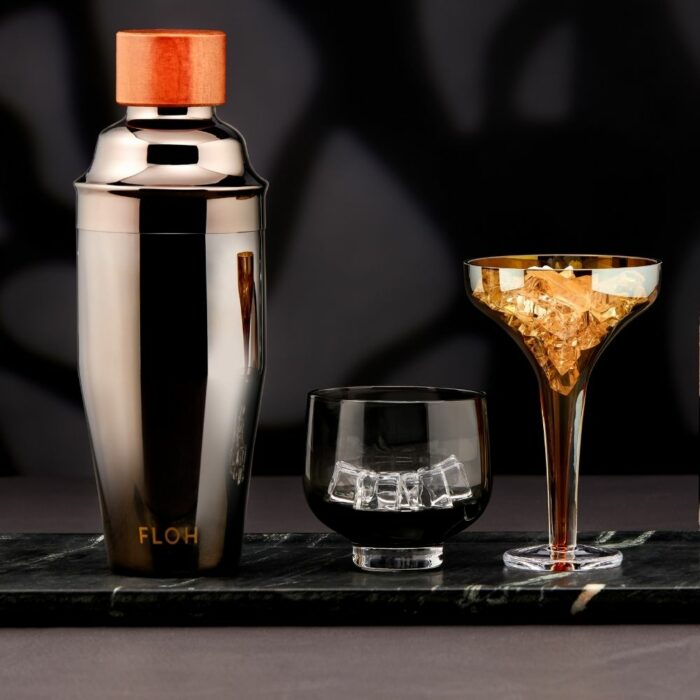 Black Cocktail Shaker Photoshoot for eCommerce by Isa Aydin Photography