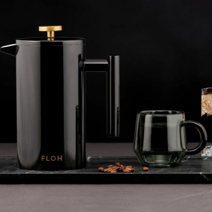 Black Steen-Steel Teapot Photoshoot in Studio