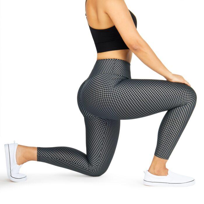 Leggings apparel photography on a model